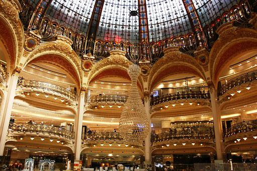 Lafayette Galleries, Lafayette, Arcos, Dome, Paris