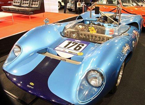 Oldtimer, Racing Car, Lola, Sports Car, Automotive