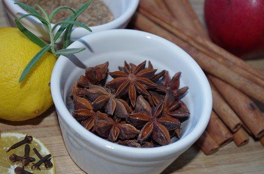 Star Anise, Pepper, Spices, Baking, Fragrant, Anise