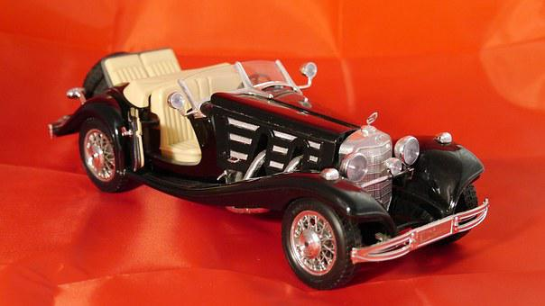 Bbubrago, Model Car, Merces Benz 500 K