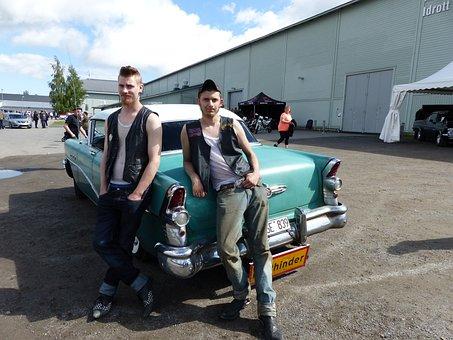 Cars, Wheels, Umeå, Motor, Classic Car, Car, Greasers