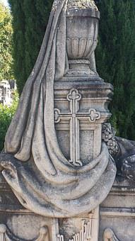 Cross, Cemetery, Tombstone, Grave, Old Cemetery, Death