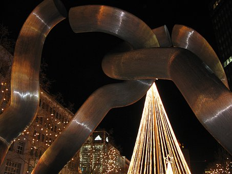 Berlin, Christmas, Kurfürstendamm, Lighting, Night