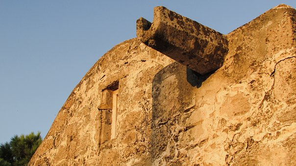 Gutter, Wall, Church, Medieval, Architecture, Cyprus