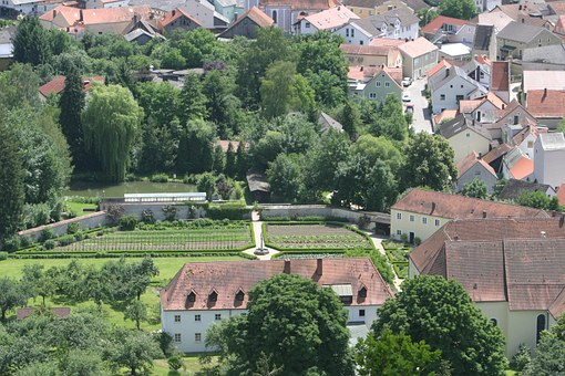 Dietfurt In The Altmühl Valley, View, Medieval Place