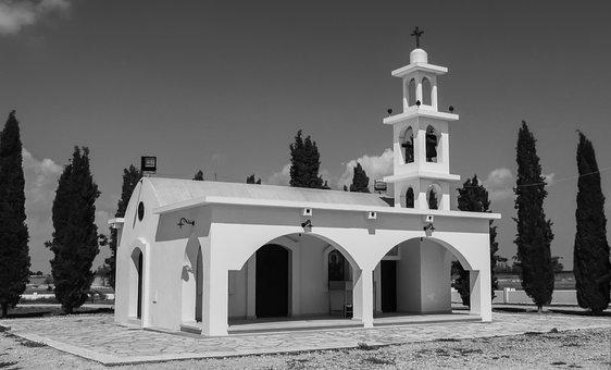 Cyprus, Avgorou, Chapel, Monument, Eoka