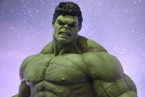 Hulk, Marvel, Superhero, Figure, One, Power, Strongly