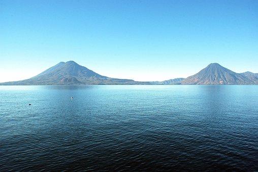 Lake Atitlán, Guatemala, Volcanoes