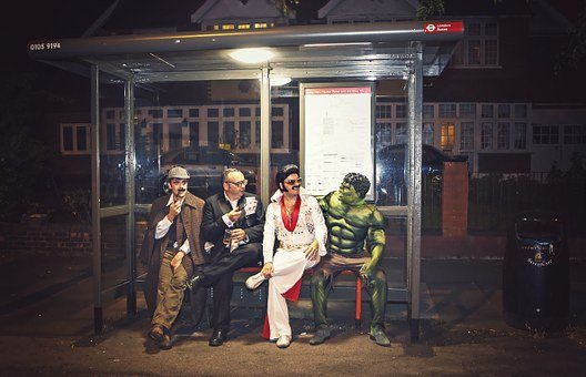 Superhero, Sherlock, Hulk, Elvis, Fashion, Fancy Dress