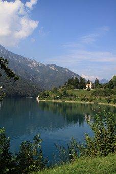 Italy, Lago Di Ledro, Castle