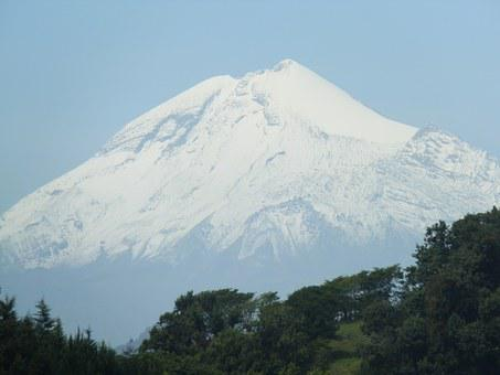 Mountain, Snow, Pico De Orizaba, Mexico, Volcano