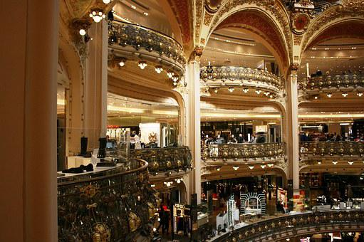 Lafayette Galleries, Lafayette, Arcos, Paris