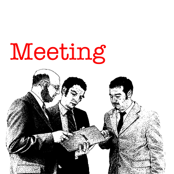 Men, Meeting, Encounter, Get-together, Round, Session