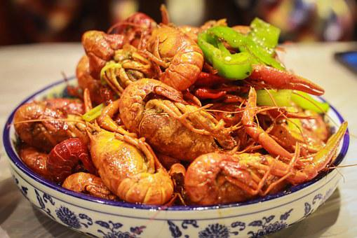 Crayfish, Chinese Dishes, Shanghai, China, Lobster