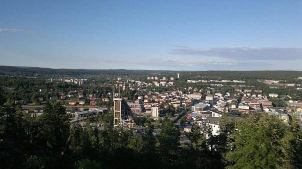 City, Sweden, Umea, Urban Landscape
