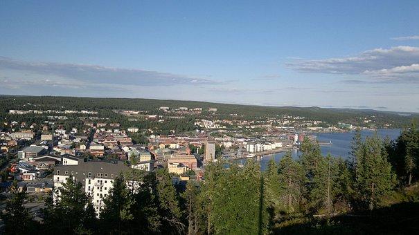 City, Umea, Urban Landscape, Sweden