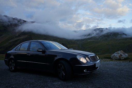 Mercedes, Merc, Car, Cars, Transport