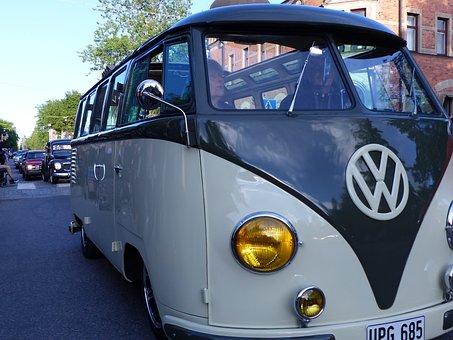 Vw Bus, Vw, Cars, Wheels, Umeå, Motor, Minibus, Van