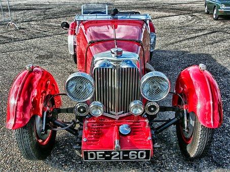 Aston Martin, 1934, Car, Automobile, Vehicle