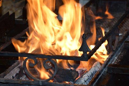 Fire, Flame, Wood, Burn, Heat, Yellow Immolation