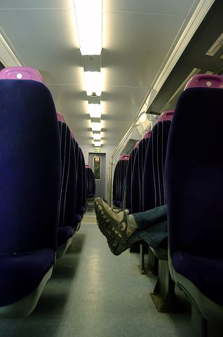 Empty, Train, Foot, Alone, Travel, Relaxation