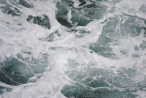 Scripps, Oceanography, Ocean, Water, Foam, Beach