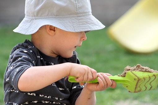 Child, Boy, Little Boy, Kid, Plays, Cute, Baby, Sandbox
