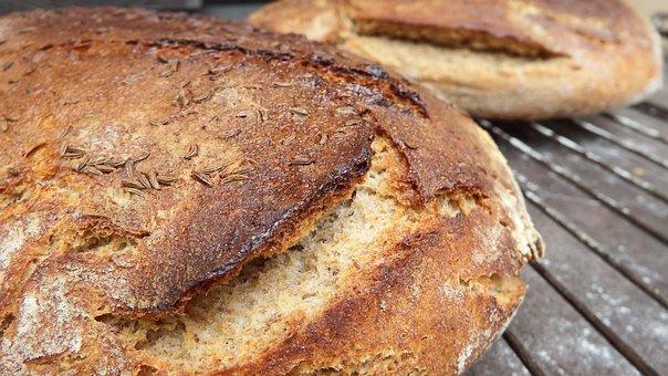 Bred, Bread, Leavened, Home, Oven, Wood