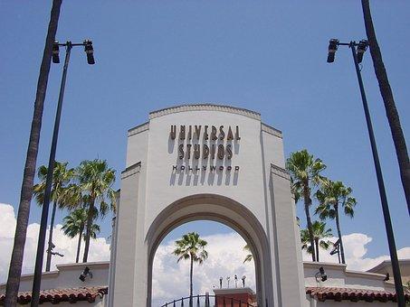 Universal Studios, Hollywood, California, Entrance