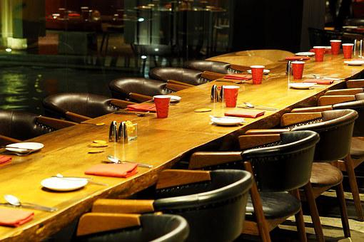 Dining Table, Restaurant, Eating, Bowling