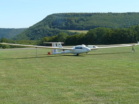 Glider, Fly, Aircraft, Wings, Span, Sailing