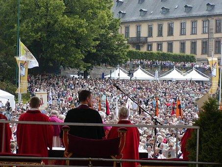 Bonifatiusfest, Fulda, Worship, Christian, Holy, Church