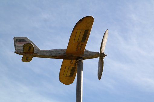 Aircraft, Flyer, Propeller, Model, Game Aircraft, Wing