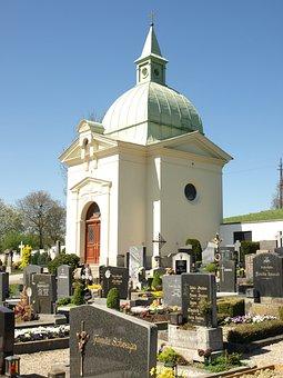 Friedhofskapelle, Ybbs, Chapel, Cemetary, Graveyard