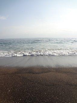 Jeju Island, Sea, Winter Sea, Jeju Island Sea