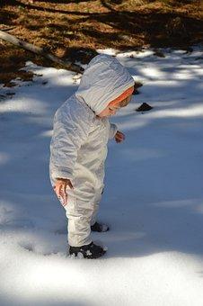 Baby, Snow, Warm, Winter, Child, Little, Toddler, Kid