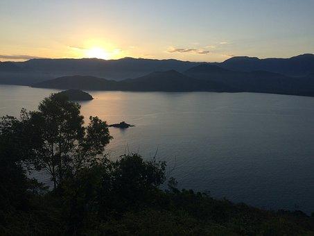 Ubatuba, Sunset, Serra, Landscape, Tourism, Flora