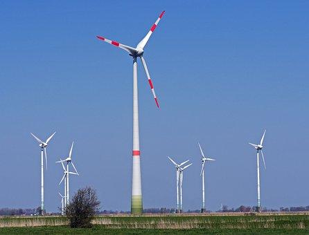 Wind Energy, Windräder, 200-merter-mast, New