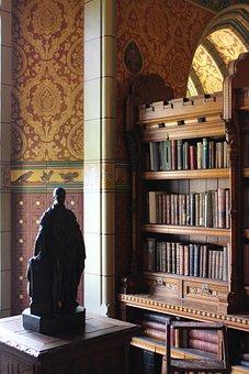 Library, Books, Bookshelf, Palace, Bookcase, Education