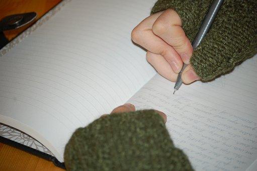 Writer, Journal, Paper, Writer' Block, Learning