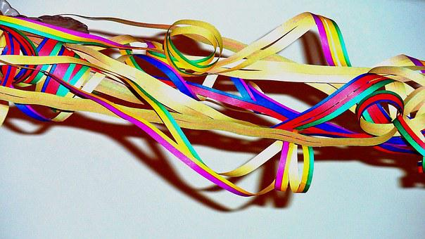 Streamer, Carnival, Colorful, Partyaritkel, Party