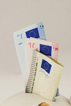 Euro, Seem, Money, Finance, Piggy Bank, Save