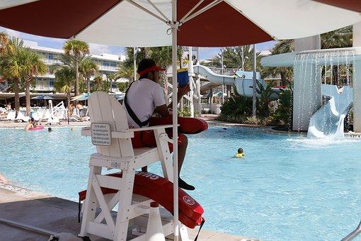 Work, Job, Pool, Holidays, Summer, Security, Safe