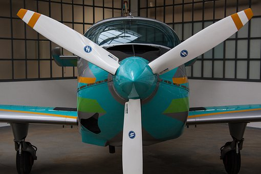 Propeller, Aircraft, Propeller Plane, Siat 223 Flamingo