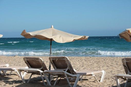 Relax, Parasol, Vacations, Summer, Sea, Romantic