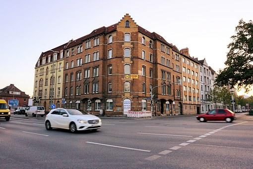 Kassel, Building, Home, Architecture, Road, Fulda, City