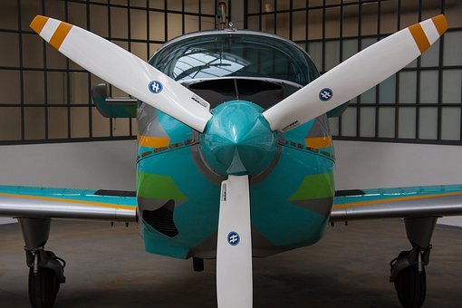 Propeller, Aircraft, Propeller Plane, Siat 223 Flamingo