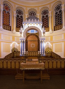 St Petersburg Russia, Choral Synagogue, Interior