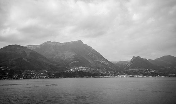 Lake Garda Italy, Landscape, View, Summer, Water