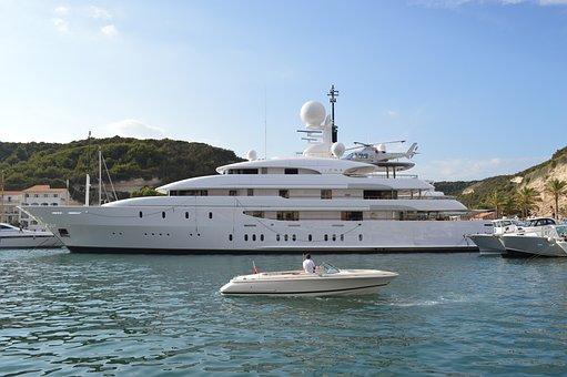 Luxurious, Boat, Luxury, Sea, Water, Yacht, Ship